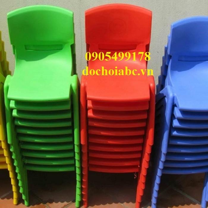 Ghế nhựa mẩm non nhiều màu sắc đa dạng tại quy nhơn3