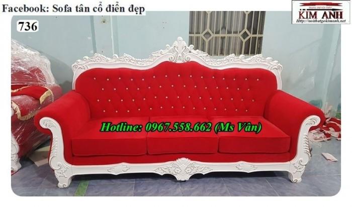 mua ghế sofa băng cổ điển cho spa