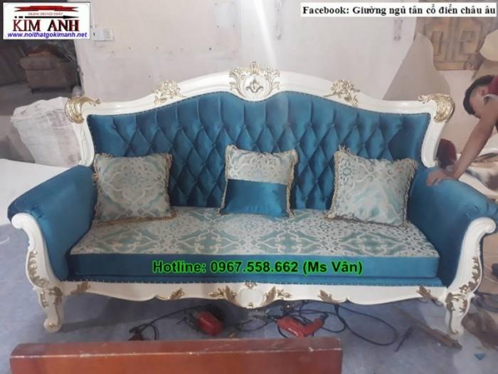 ghế sofa băng phong cách châu âu