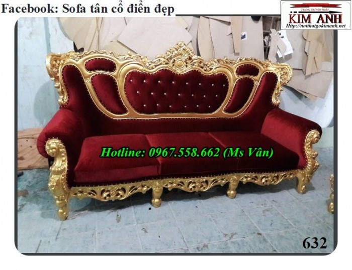 ghế băng cổ điển hoàng gia