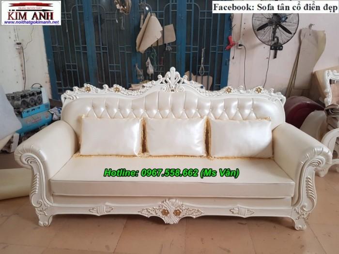 sofa cổ điển châu âu màu trắng tại q1 q7