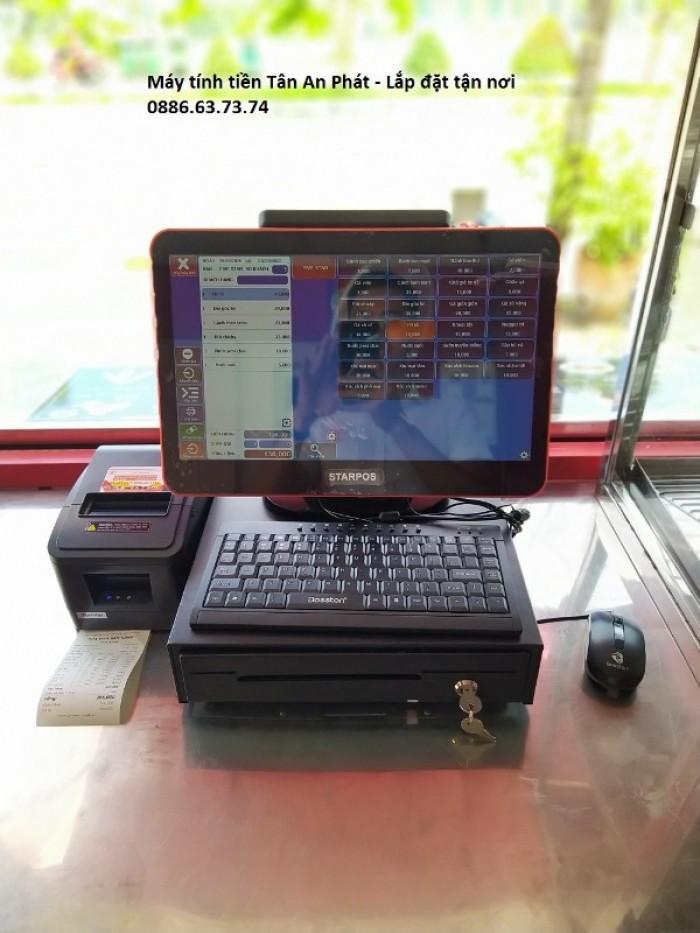 Chuyên máy tính tiền giá rẻ nhất tại Vĩnh Long cho quán ăn vặt – quán kem2