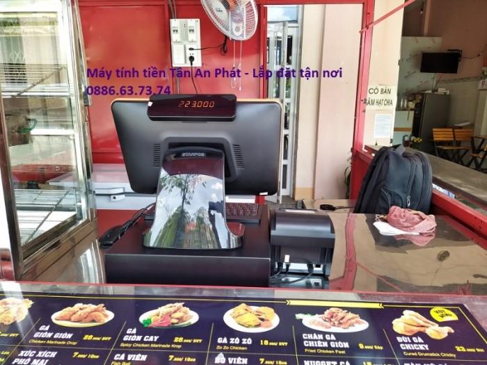 Chuyên máy tính tiền giá rẻ nhất tại Vĩnh Long cho quán ăn vặt – quán kem1
