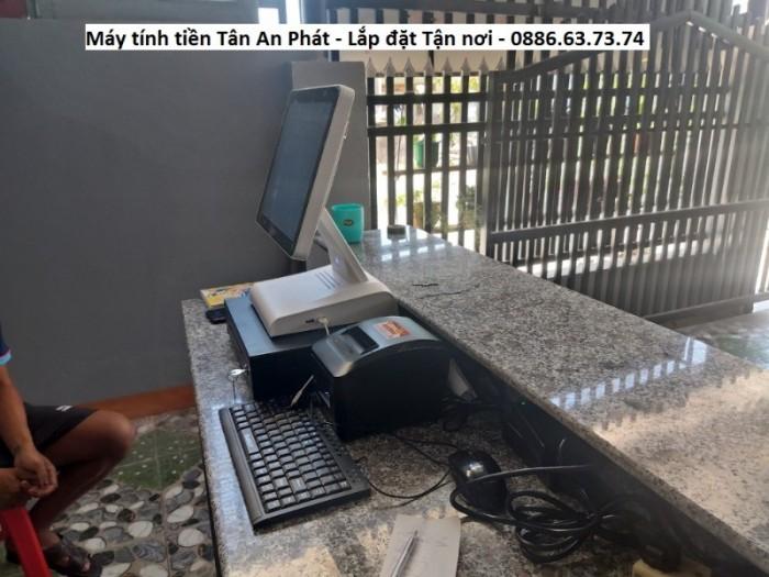 Trọn bộ máy tính tiền tại Bình Định cho quán cà phê, nhà hàng giá rẻ0