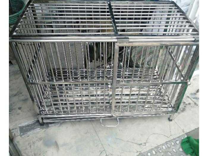 Chuồng chó inox 50 -100-600