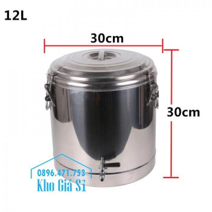 Thùng inox cách nhiệt 10 lít, 20 lít, 30 lít, 40 lít, 50 lít, 60 lít, 100 lít2