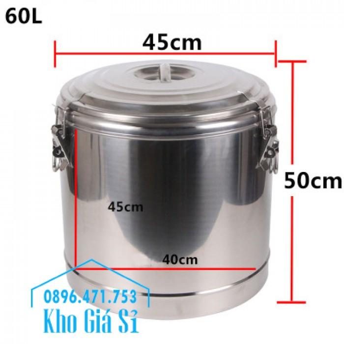 Thùng inox cách nhiệt 10 lít, 20 lít, 30 lít, 40 lít, 50 lít, 60 lít, 100 lít3