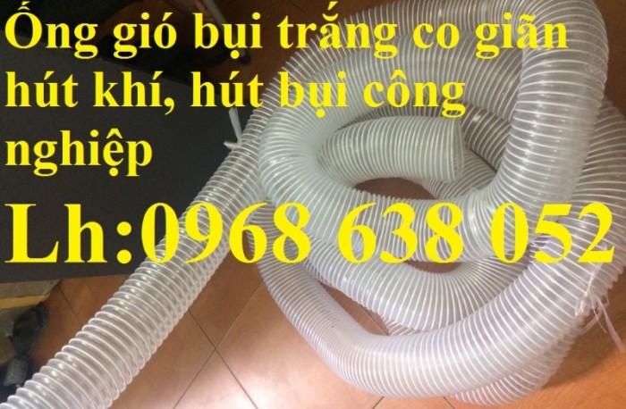 Ống gân nhựa mềm hút bụi máy cnc, hút liệu thông gió tốt nhất giá rẻ1