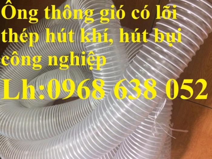Ống gân nhựa mềm hút bụi máy cnc, hút liệu thông gió tốt nhất giá rẻ3