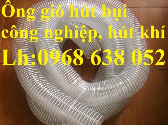 Ống gân nhựa mềm hút bụi máy cnc, hút liệu thông gió tốt nhất giá rẻ7