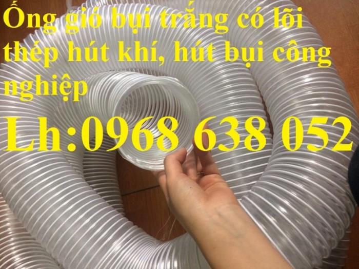 Ống gân nhựa mềm hút bụi máy cnc, hút liệu thông gió tốt nhất giá rẻ5