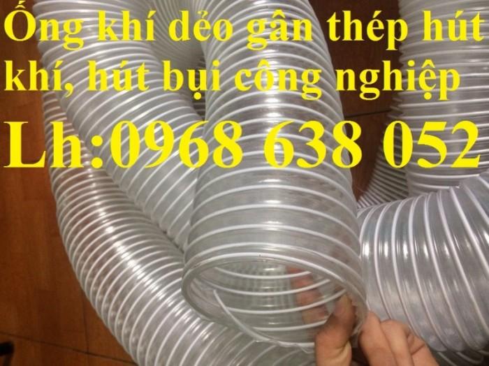 Ống gân nhựa mềm hút bụi máy cnc, hút liệu thông gió tốt nhất giá rẻ6