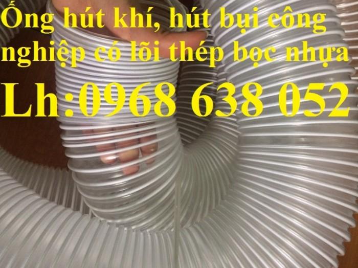 Ống gân nhựa mềm hút bụi máy cnc, hút liệu thông gió tốt nhất giá rẻ4
