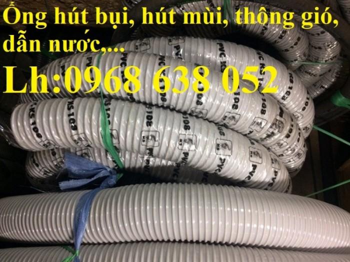 Ống gân nhựa mềm hút bụi máy cnc, hút liệu thông gió tốt nhất giá rẻ9