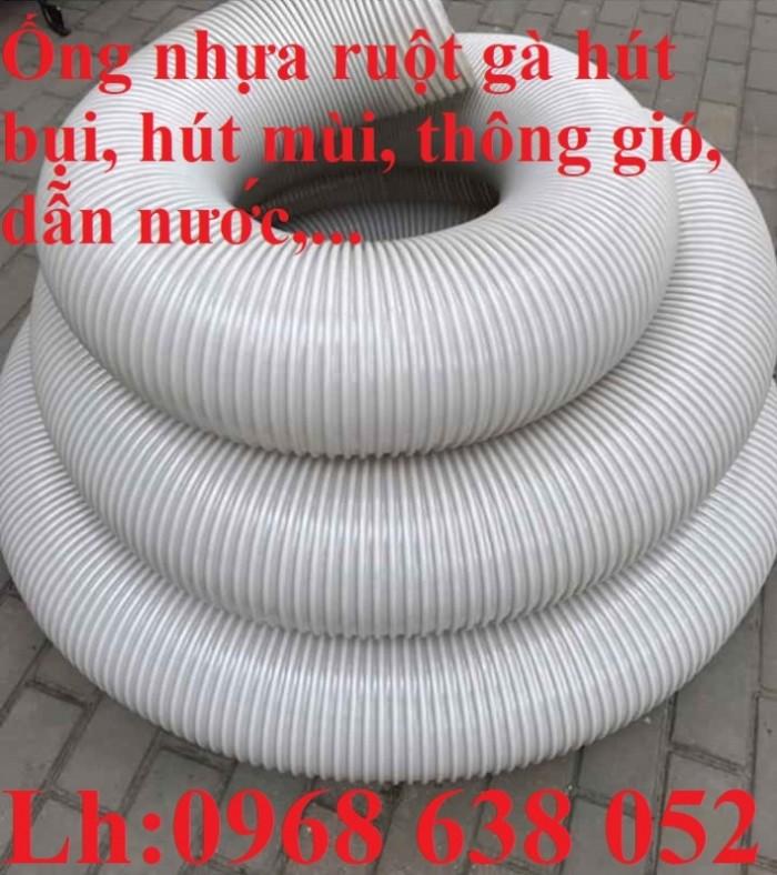 Ống gân nhựa mềm hút bụi máy cnc, hút liệu thông gió tốt nhất giá rẻ12