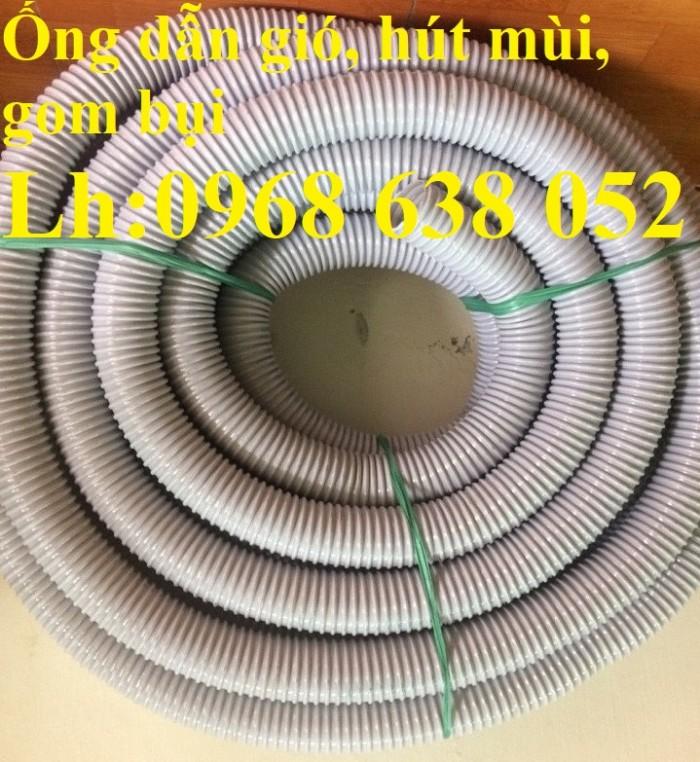 Ống gân nhựa mềm hút bụi máy cnc, hút liệu thông gió tốt nhất giá rẻ16