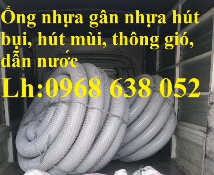 Ống gân nhựa mềm hút bụi máy cnc, hút liệu thông gió tốt nhất giá rẻ14