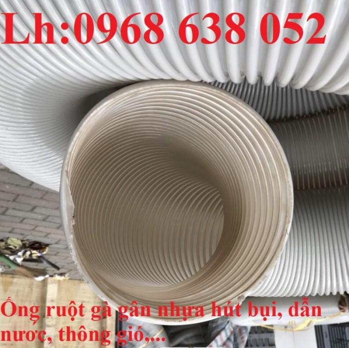 Ống gân nhựa mềm hút bụi máy cnc, hút liệu thông gió tốt nhất giá rẻ17
