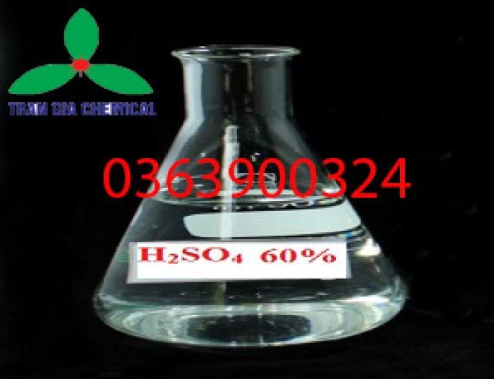 Axit H2SO4 60%   dung dịch H2SO4 60% loãng   Hydro Sulfate 60%0