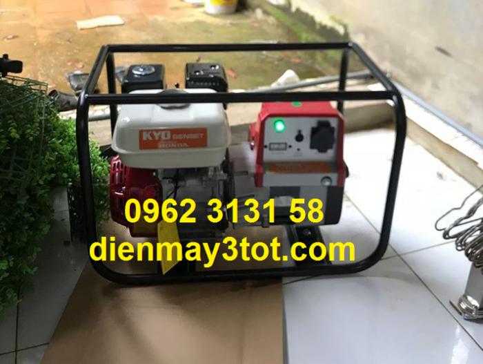 Máy phát điện chạy xăng 2,2kva Honda động cơ Thái Lan chính hãng0