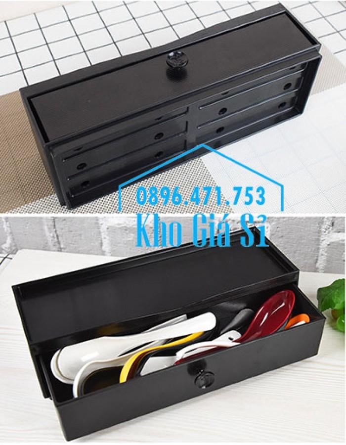 HCM - Bán hộp đũa Nhật Bản - Hộp đựng đũa kiểu Nhật Bản có ngăn kéo16