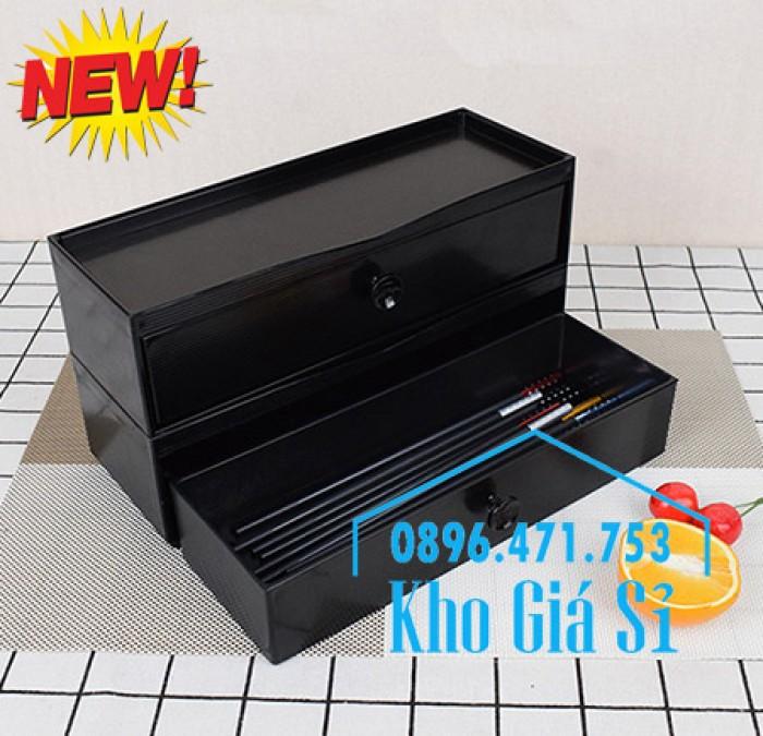 HCM - Bán hộp đũa Nhật Bản - Hộp đựng đũa kiểu Nhật Bản có ngăn kéo13
