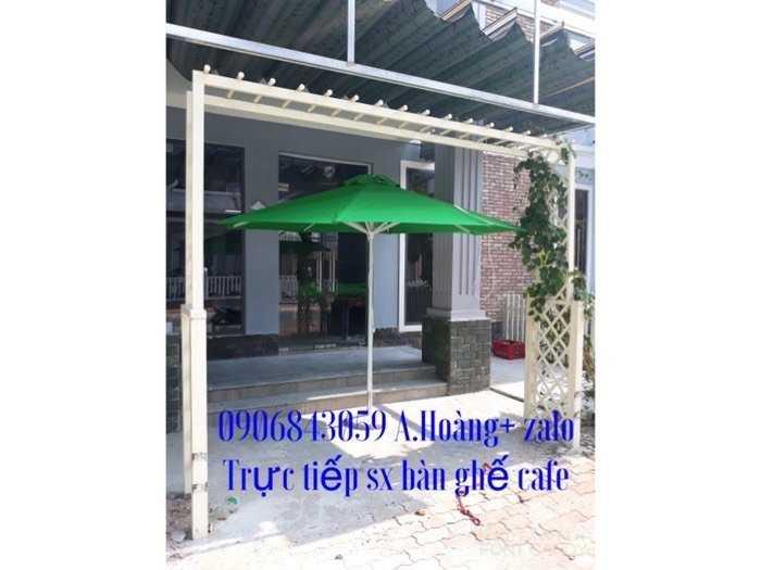 Bộ bàn ghế cà phê,dù che nắng giá rẽ-nội thất Nguyễn hoàng
