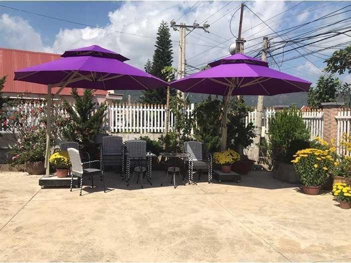 Dù cafe che nắng giá rẽ tại xưởng- nội thất Nguyễn hoàng1
