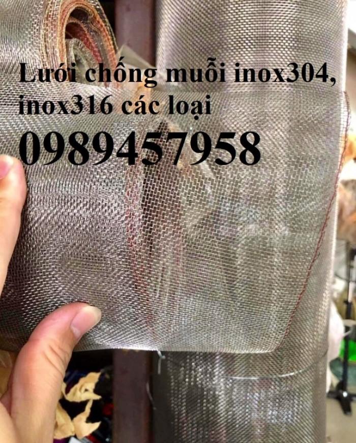 Bán lưới chống muỗi inox 304, lưới inox 201, lưới inox 3160