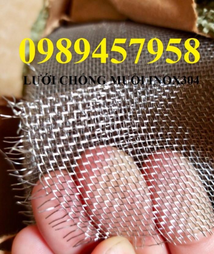 Chuyên Lưới chống muỗi inox 304, lưới inox 201, lưới inox 3169