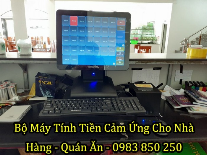 Bộ Máy Tính Tiền Cảm Ứng Cho Nhà Hàng Tại Thạch Hà - Hà Tĩnh1