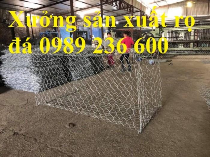 Rọ đá bọc nhựa PVC kích thước 2x1x1, 2x1x0.5 giá rẻ tại Hà Nội1