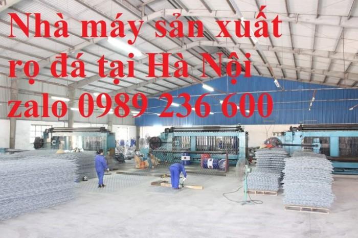 Rọ đá bọc nhựa PVC kích thước 2x1x1, 2x1x0.5 giá rẻ tại Hà Nội3