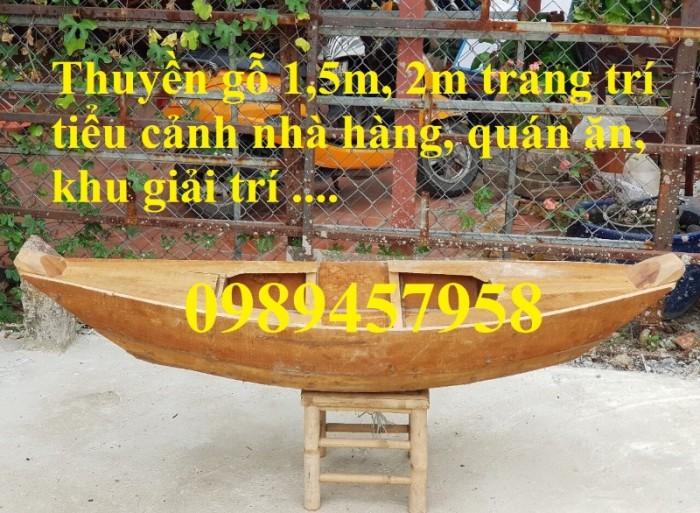 xuồng gỗ 1,2m, 1,5m 2m nhỏ xinh