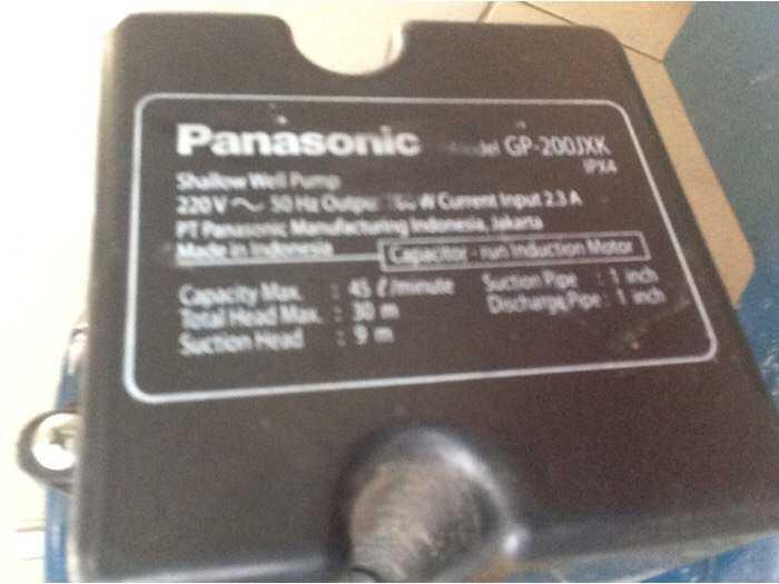 Máy bơm tầng cao Panasonic Japan4