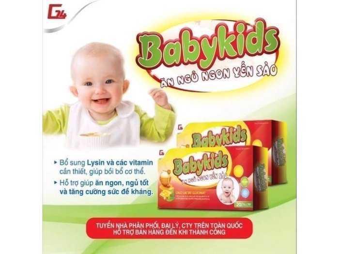 Babykids ăn ngủ ngon yến sào2