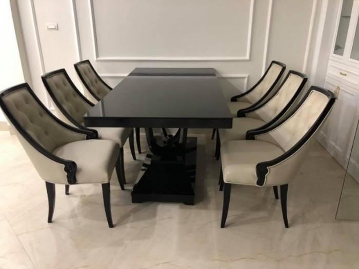 Bộ bàn ghế ăn CG tân cổ điển sang trọng1