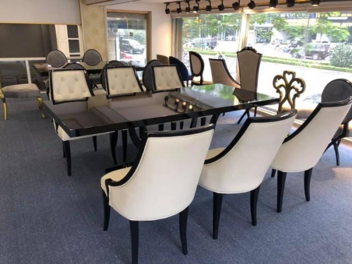 Bộ bàn ghế ăn CG tân cổ điển sang trọng3