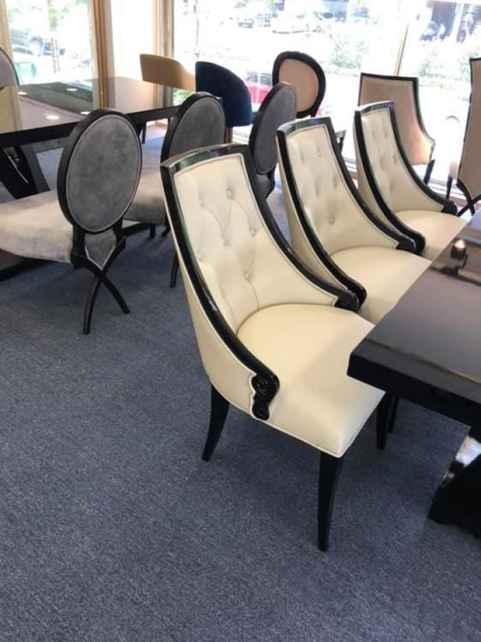 Bộ bàn ghế ăn CG tân cổ điển sang trọng4
