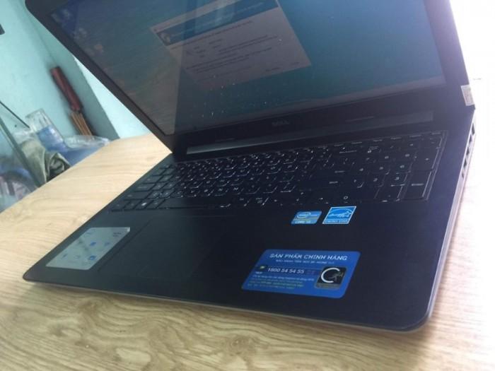 Qúa rẻ laptop vỏ nhôm phím sáng fui phím số Dell 5547 core i3-4030U Ram 4gb H3