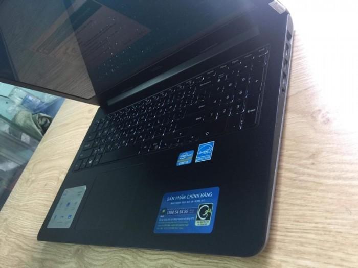 Qúa rẻ laptop vỏ nhôm phím sáng fui phím số Dell 5547 core i3-4030U Ram 4gb H0