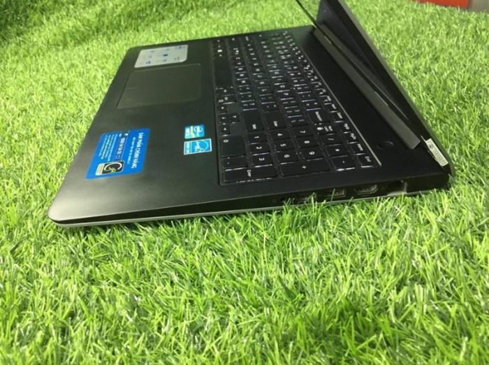 Qúa rẻ laptop vỏ nhôm phím sáng fui phím số Dell 5547 core i3-4030U Ram 4gb H1