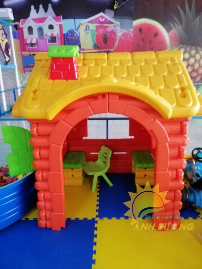 Chuyên bán đồ chơi nhà cổ tích dễ thương cho trẻ em mầm non2