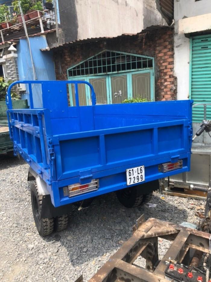 Bán xe ba bánh chở hàng - xe hoa lâm - xe ba bánh Hoàng Quân5