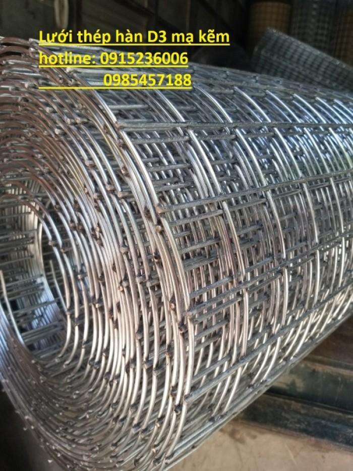 Lưới thép hàn D3 ô 50x50 khổ 1m, 1,2m, 1,5m giá ưu đãi0