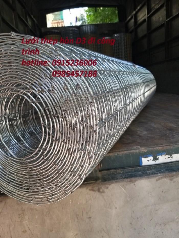 Lưới thép hàn D3 ô 50x50 khổ 1m, 1,2m, 1,5m giá ưu đãi2