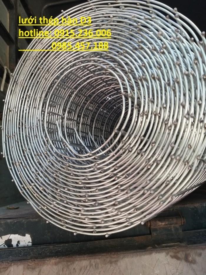 Lưới thép hàn D3 ô 50x50 khổ 1m, 1,2m, 1,5m giá ưu đãi5