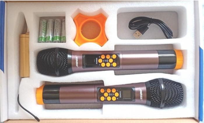 Micro Không Dây Bose BS-992 Chất lượng thu tốt, loại bỏ âm nhiễu, tạp âm, đem đến tiếng ca trong trẻo và chân thực 3