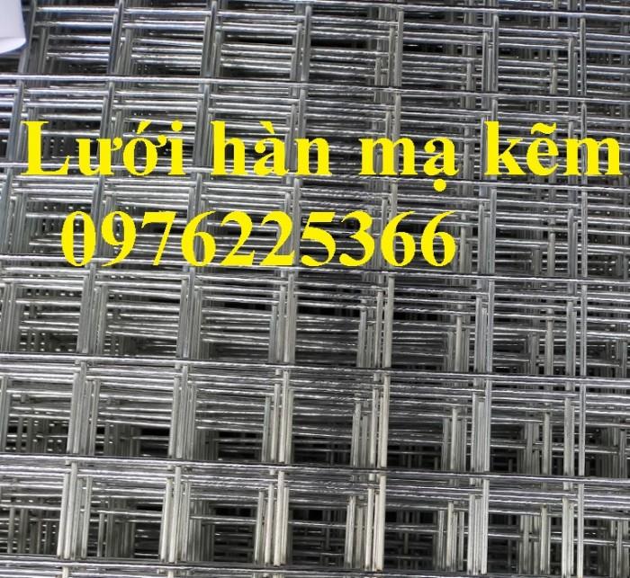 Lưới thép hàn mạ kẽm D3 a50x50, D4 a50x50, D2,5 a50x50, D2 a50x500