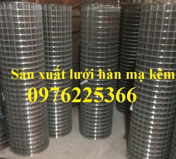 Lưới thép hàn mạ kẽm D3 a50x50, D4 a50x50, D2,5 a50x50, D2 a50x501